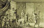 francuska perukarnia z XVII wieku