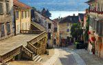ulica w starej zabudowie
