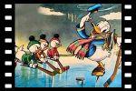 kadr z filmu kaczor Donald