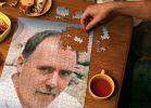 puzzle żart z portretem autora strony