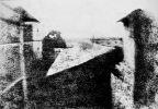 pierwsze zdjęcie fotograficzne - widok z okna