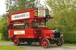 zabytkowy autobus piętrowy