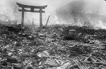 miasto Nagasaki po wybuchu bomby atomowej
