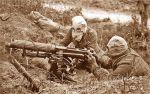 żołnierze w maskach z 1915 roku