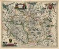 mapa Polski Willema Janszoon Blaeu