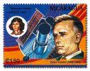 Hubble z teleskopem na znaczku