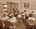 klasa szkolna z początku XX wieku
