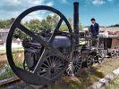 koło zamachowe z lokomotywy Trevithick'a z roku 1802