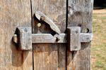 drewniany rygiel