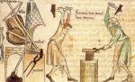 średniowieczna rycina