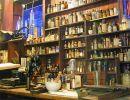 wnętrze starej apteki