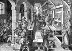średniowieczna drukarnia