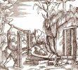 miechy - rycina z XVI wieku