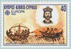 ogień grecki na znaczku