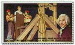 Guillotin i jego dzieło na znaczku pocztowym