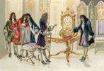Huygens prezentuje zegar