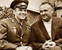 Korolow wspólnie z Gagarinem