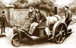 Lenoir na pojeździe z 1860 roku