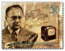 Zworykin na znaczku pocztowym